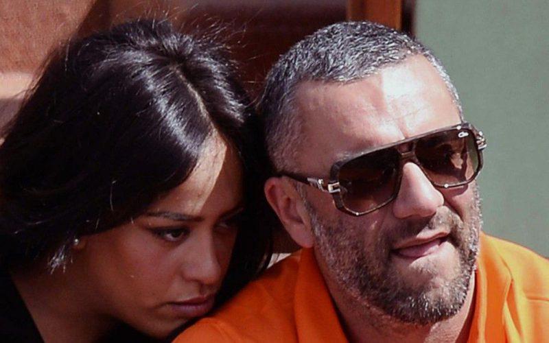 Amel Bent et son mari Patrick Antonelli
