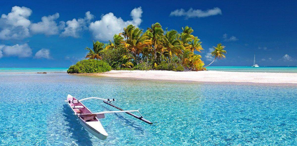 Plage en Polynésie