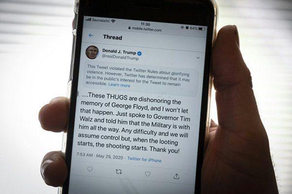 Twitter et Donald Trump