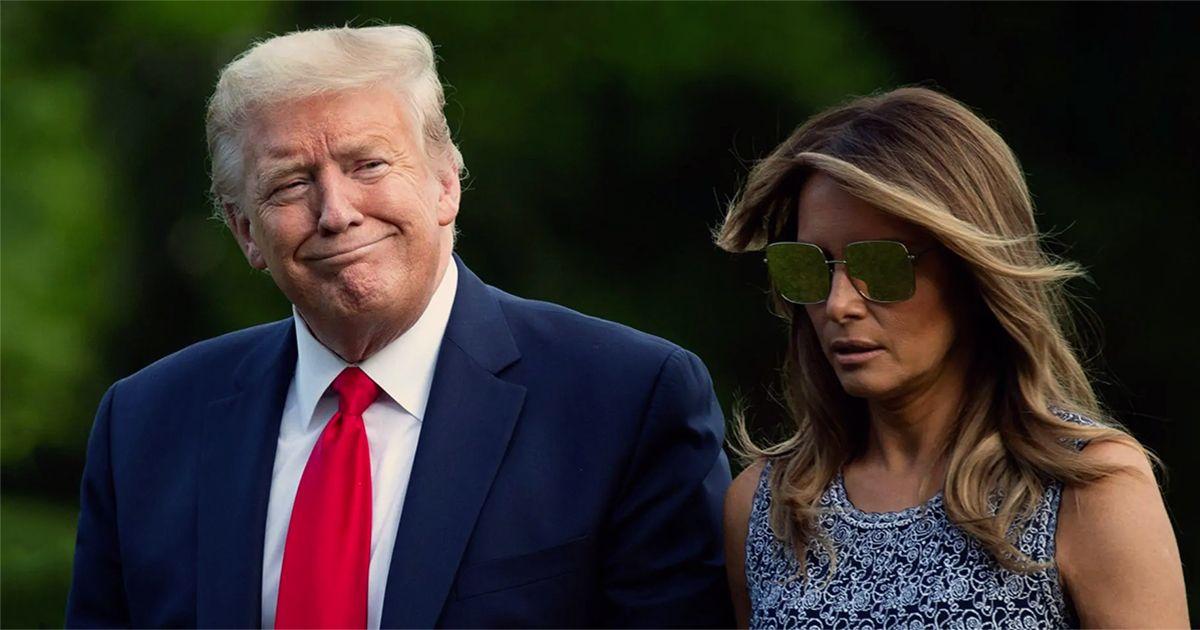 Donald et Mélania Trump