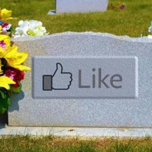 Facebook : le réseau social sera d'ici 2070 le plus grand cimetière virtuel !