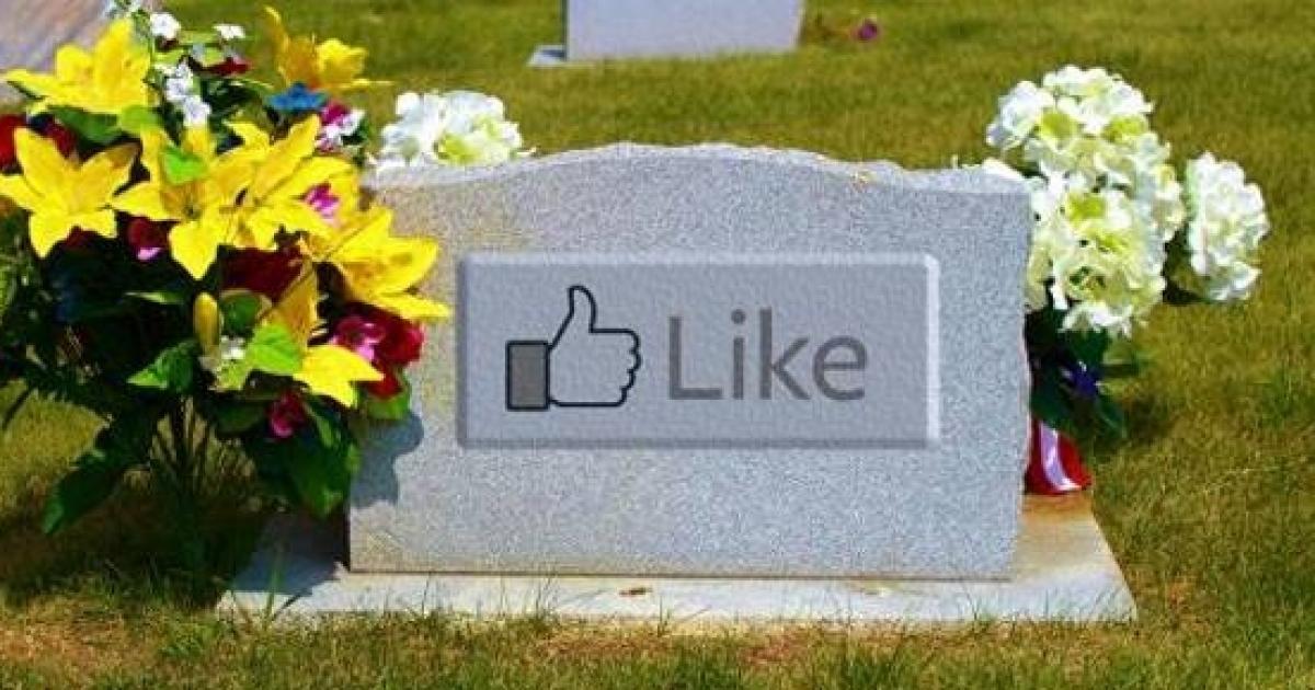 Facebook plus grand cimetière