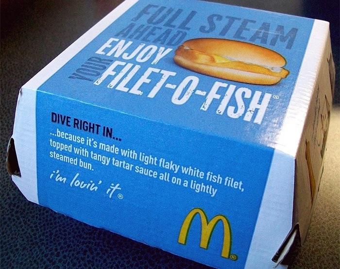 Boite de Filet-O-Fish