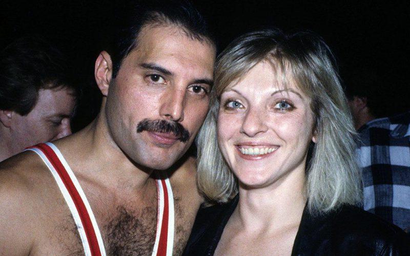 Mary Austin et Freddie Mercury
