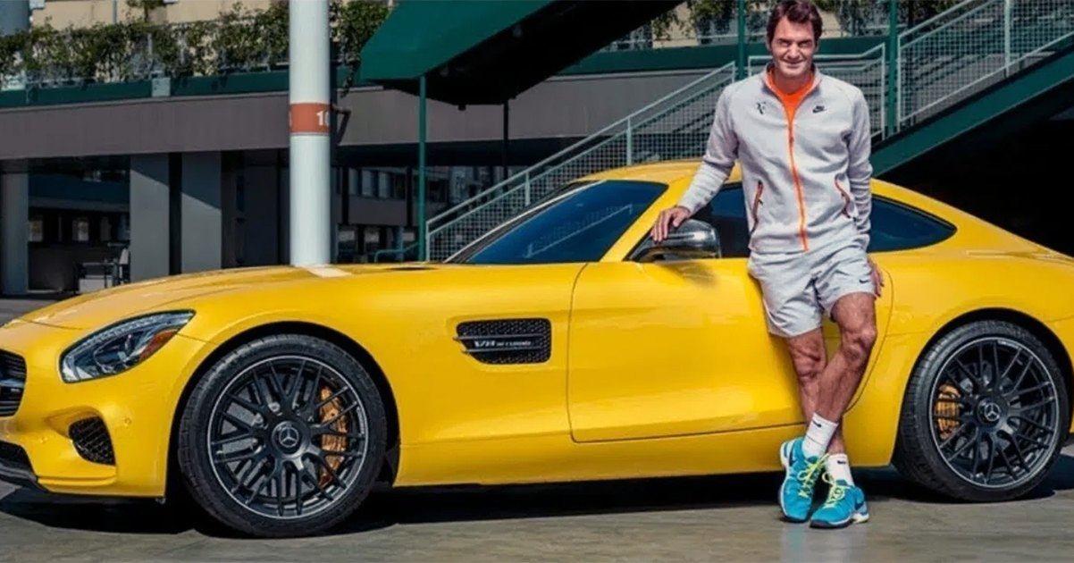 Roger Federer Mercedes Benz
