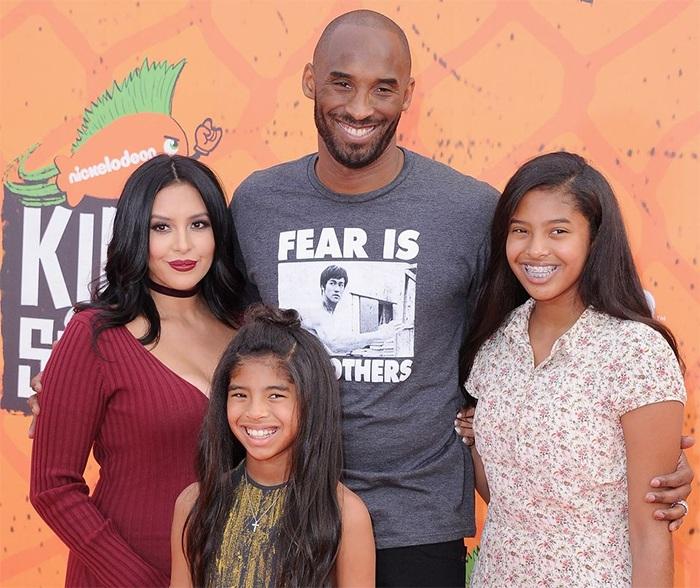 Kobe Bryant, Vanessa Laine Bryant, Gianna Maria-Onore Bryant et Natalia Diamante Bryant
