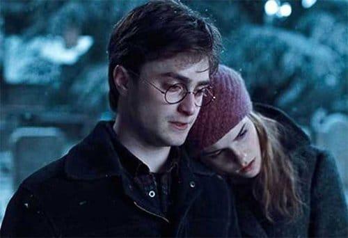 Daniel Radcliffe et Emma Watson