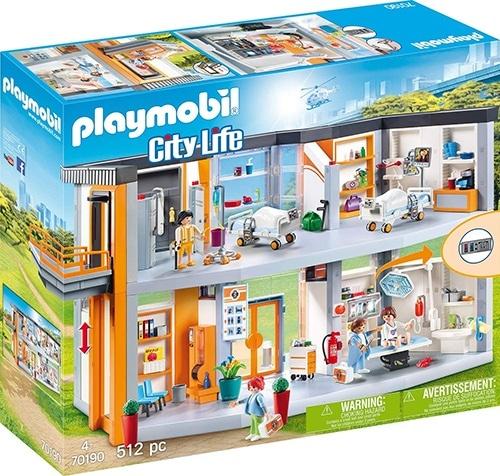 Hôpital Playmobil