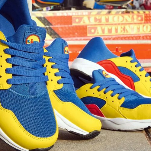 Lidl : ses baskets tendance en vente à moins de 15 euros en France !