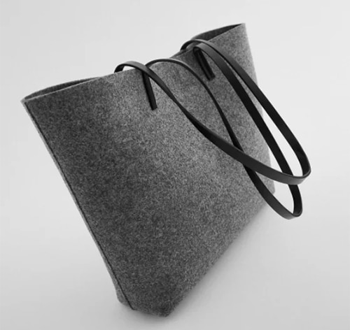 Sac shopper personnalisable de Zara