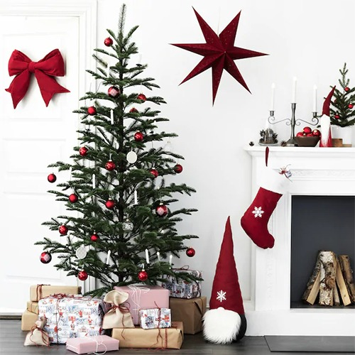 Un grand sapin de Noël