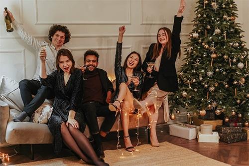 Réveillon de Noël de famille