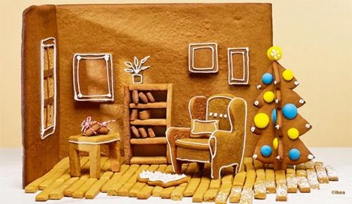 Votre maison en pain d'épices avec Ikea