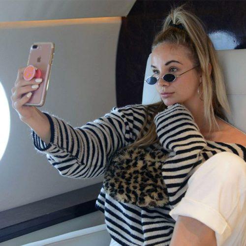 Instagram : les influenceurs peuvent louer un faux jet privé !