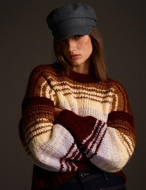 Le pull à rayures de Zara