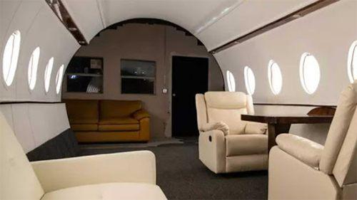 Un studio qui ressemble à un jet privé