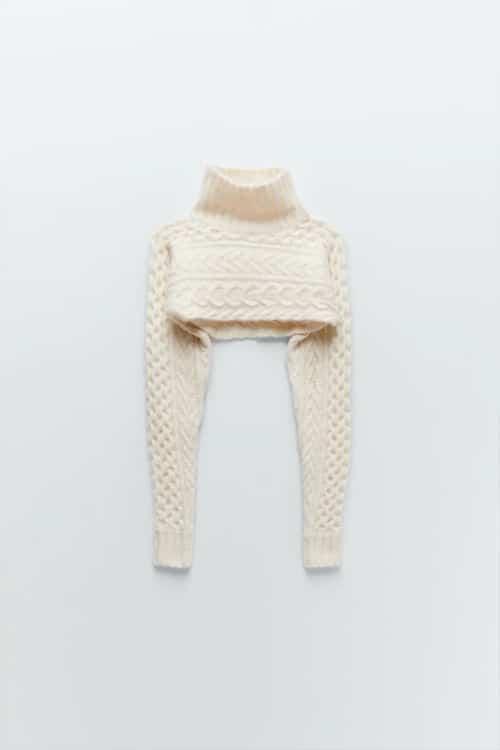 Pull style manchons Zara