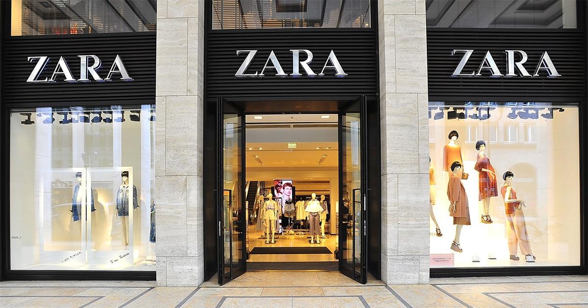 Zara mode année 2000