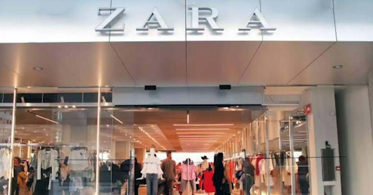 Zara - Pantalon en velours