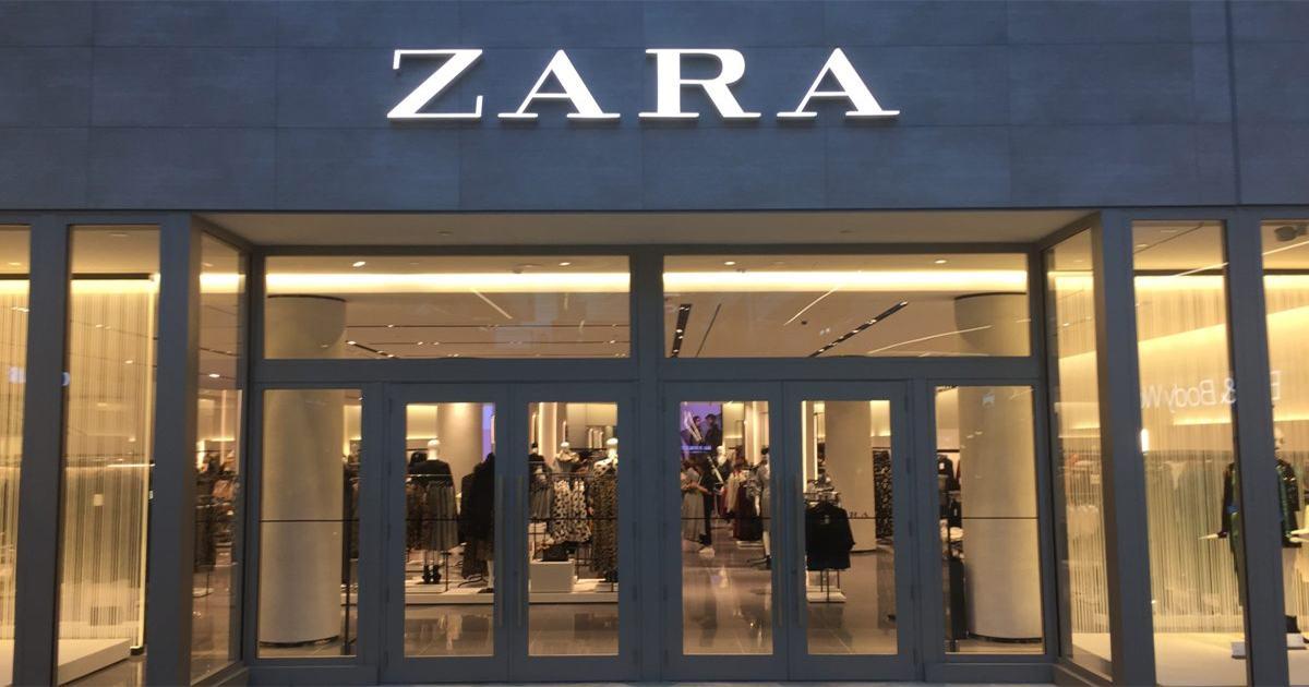 Zara - Pull à rayures