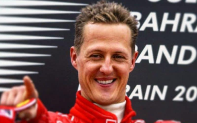 Michael Schumacher - Sa fille Gina
