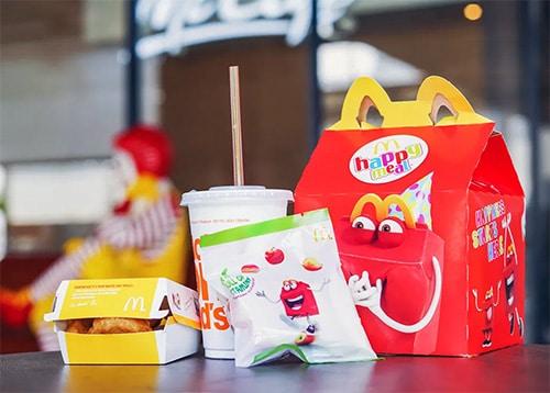 Happy meal de chez McDonald's