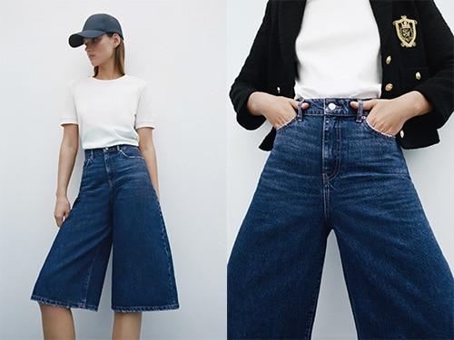 Denim hyper tendance de Zara