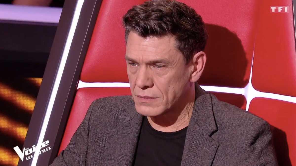 Marc Lavoine dans The Voice