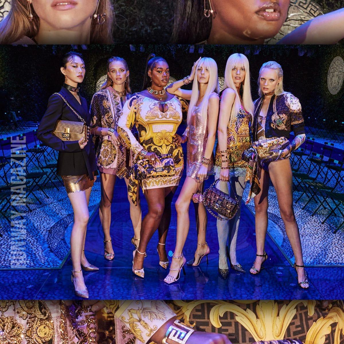 Versace et Fendi deux géants de la mode qui s'associent pour une collection de taille!