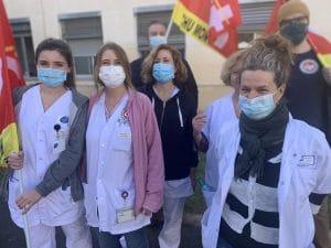Etat du système sanitaire en France : les sages-femmes en grève dans l'Hérault !