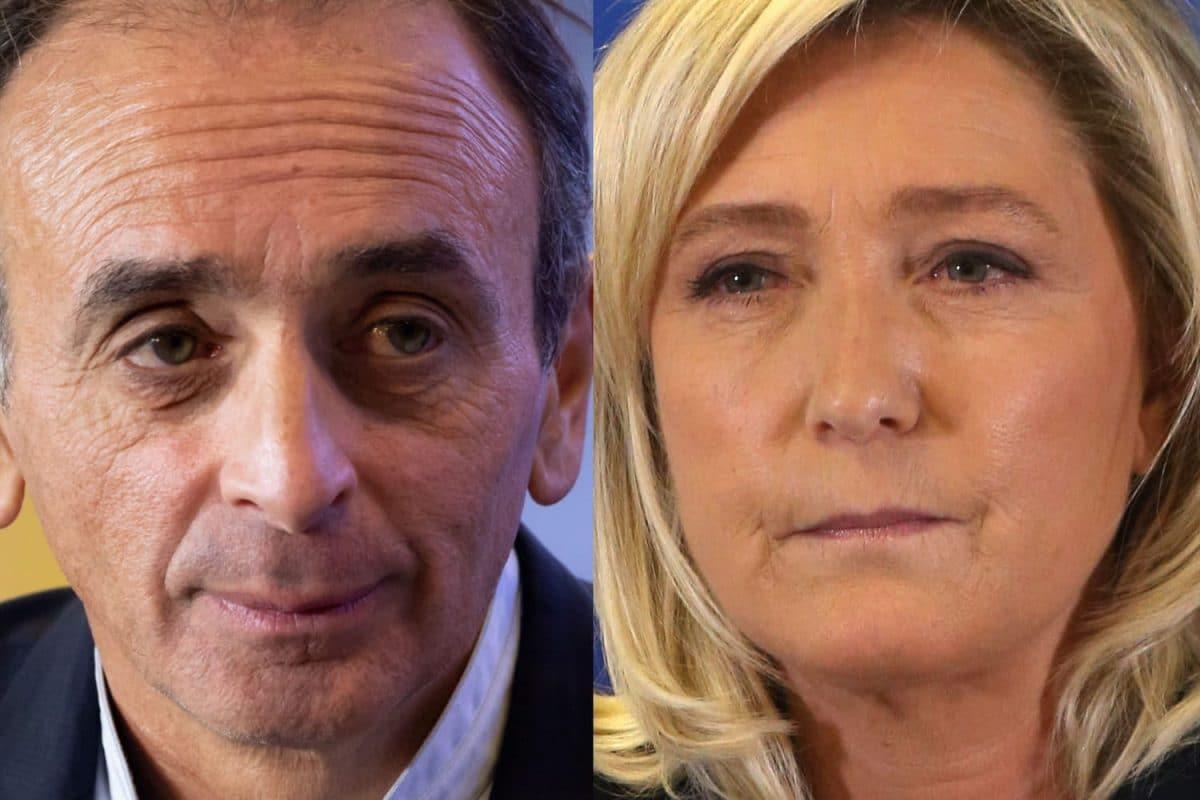 Présidentielle 2022 : Éric Zemmour et Marine Le Pen ne tarissent pas de piques réciproques!