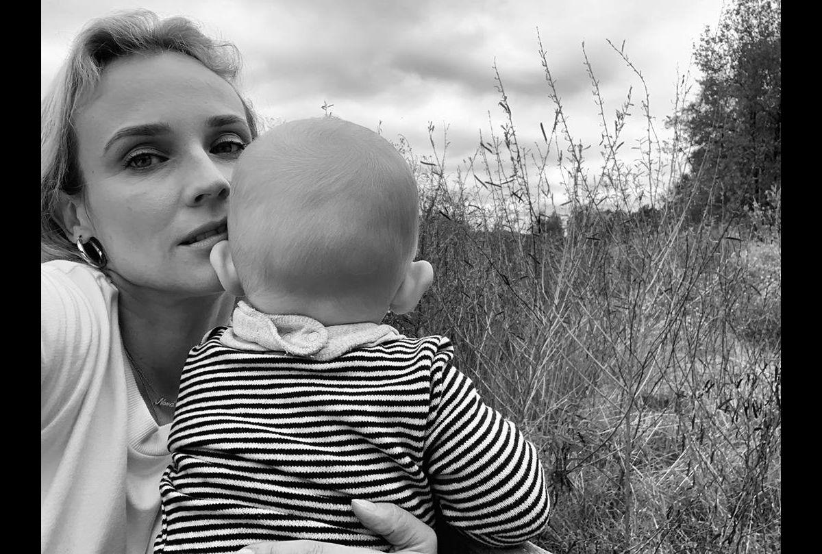 La nouvelle vie de famille de l'actrice Diane Kruger hors de New York!