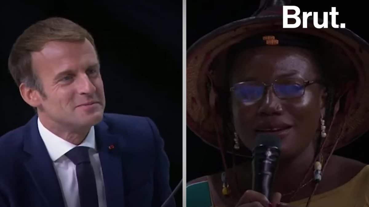 Sommet France -Afrique: l'interpellation d'Emmanuel Macron par une entrepreneuse burkinabè !